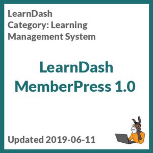 LearnDash MemberPress 1.0