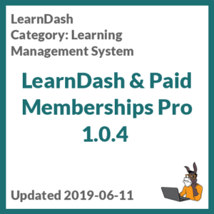 LearnDash & Paid Memberships Pro 1.0.4