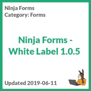 Ninja Forms - White Label 1.0.5