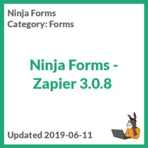 Ninja Forms - Zapier 3.0.8