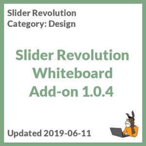 Slider Revolution Whiteboard Add-on 1.0.4