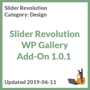 Slider Revolution WP Gallery Add-On 1.0.1