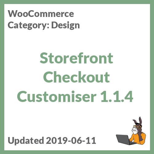 Storefront Checkout Customiser 1.1.4