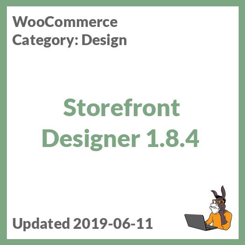 Storefront Designer 1.8.4