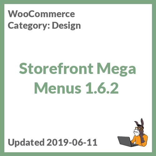 Storefront Mega Menus 1.6.2