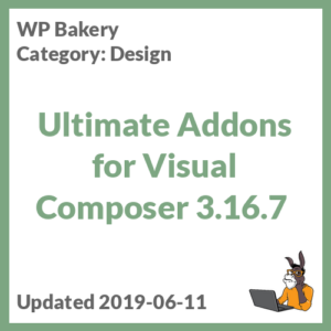 Ultimate Addons for Visual Composer 3.16.7