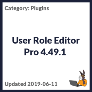 User Role Editor Pro 4.49.1