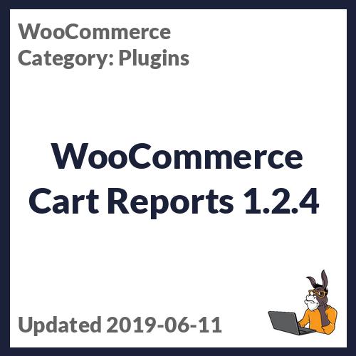 WooCommerce Cart Reports 1.2.4