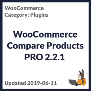 WooCommerce Compare Products PRO 2.2.1