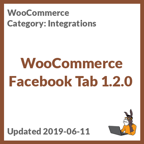 WooCommerce Facebook Tab 1.2.0