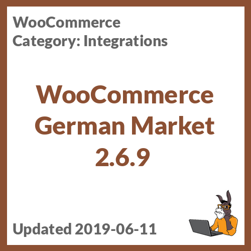WooCommerce German Market 2.6.9