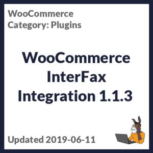 WooCommerce InterFax Integration 1.1.3