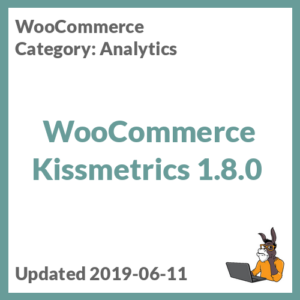 WooCommerce Kissmetrics 1.8.0