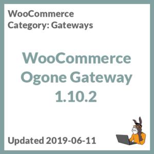 WooCommerce Ogone Gateway 1.10.2