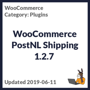 WooCommerce PostNL Shipping 1.2.7