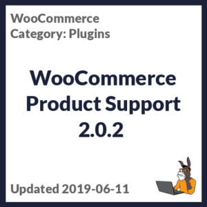 WooCommerce Product Support 2.0.2
