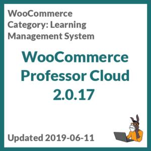 WooCommerce Professor Cloud 2.0.17