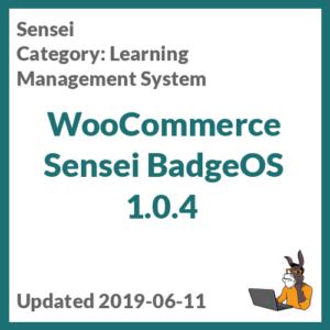WooCommerce Sensei BadgeOS 1.0.4