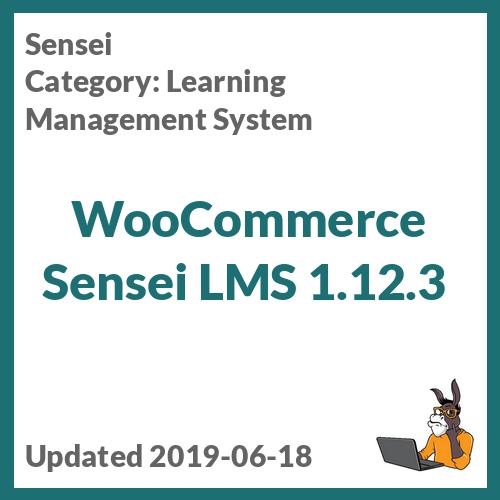 WooCommerce Sensei LMS 1.12.3