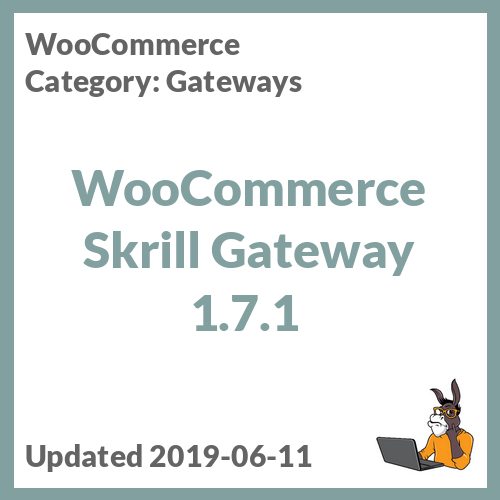 WooCommerce Skrill Gateway 1.7.1