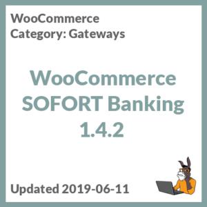WooCommerce SOFORT Banking 1.4.2