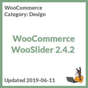 WooCommerce WooSlider 2.4.2