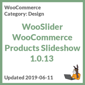 WooSlider WooCommerce Products Slideshow 1.0.13