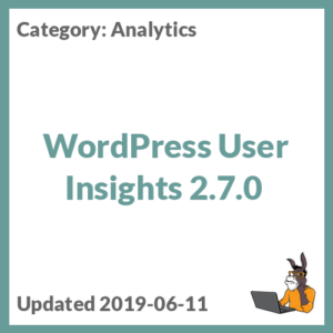 WordPress User Insights 2.7.0