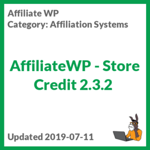 AffiliateWP - Store Credit 2.3.2
