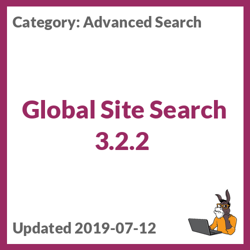 Global Site Search 3.2.2