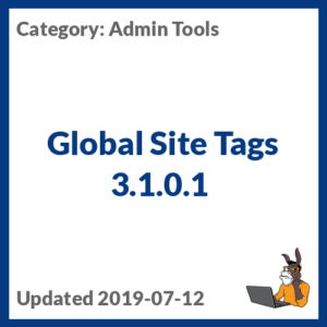Global Site Tags 3.1.0.1