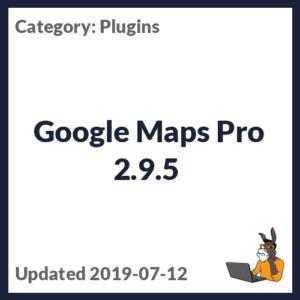 Google Maps Pro 2.9.5
