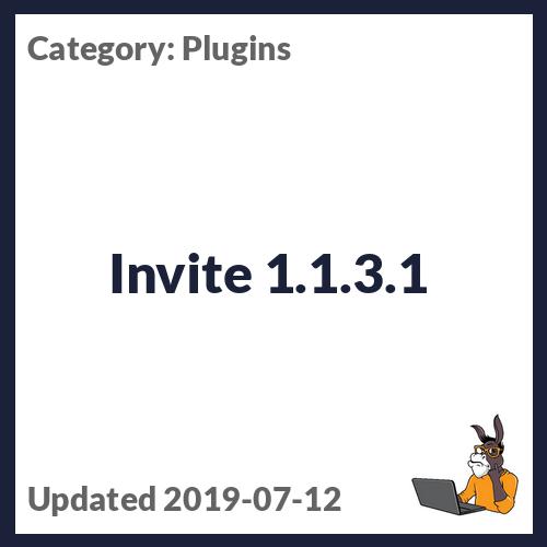 Invite 1.1.3.1
