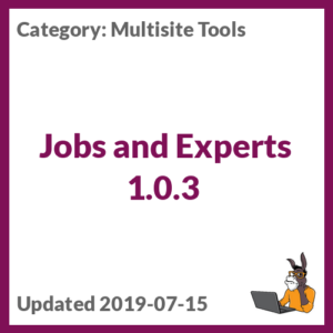 Jobs and Experts 1.0.3