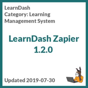 LearnDash Zapier 1.2.0
