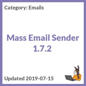 Mass Email Sender 1.7.2