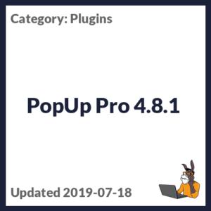 PopUp Pro 4.8.1