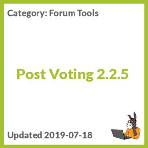 Post Voting 2.2.5