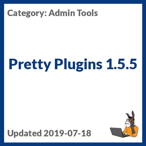 Pretty Plugins 1.5.5
