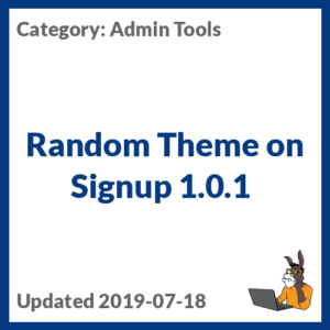 Random Theme on Signup 1.0.1