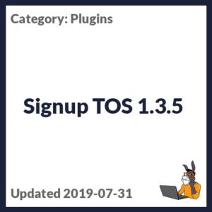 Signup TOS 1.3.5