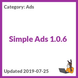 Simple Ads 1.0.6