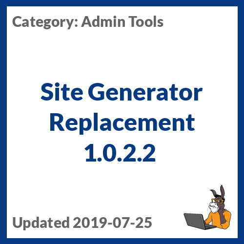 Site Generator Replacement 1.0.2.2