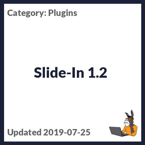 Slide-In 1.2