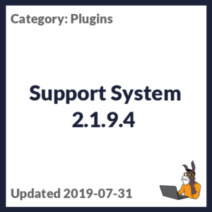 Support System 2.1.9.4
