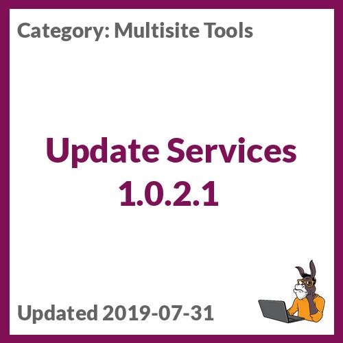 Update Services 1.0.2.1