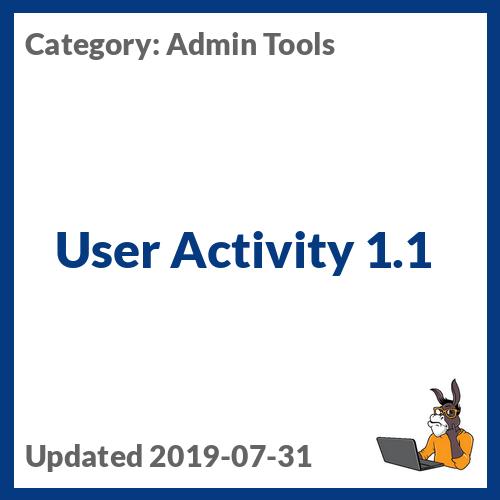 User Activity 1.1