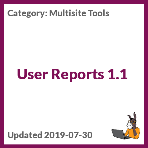 User Reports 1.1