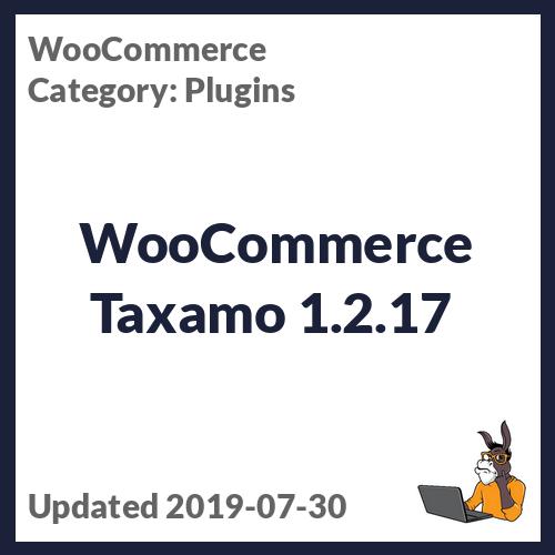 WooCommerce Taxamo 1.2.17