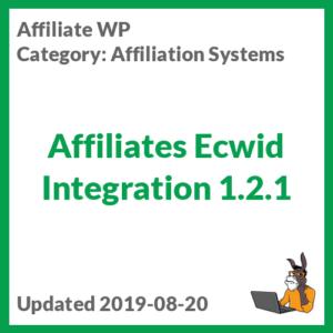 Affiliates Ecwid Integration